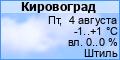 Погода в Кировограде