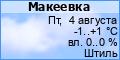 Погода в Макеевке