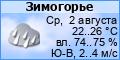 Погода в Зимогорье Луганской области