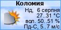 Погода в Коломиї
