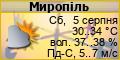 Погода в Мирополі