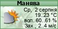 Погода в Маняві